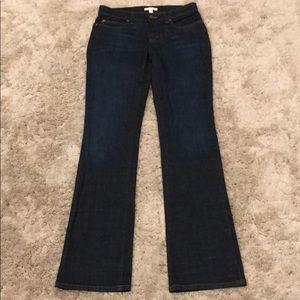 Eileen Fisher Dark Wash Straight Leg Jean